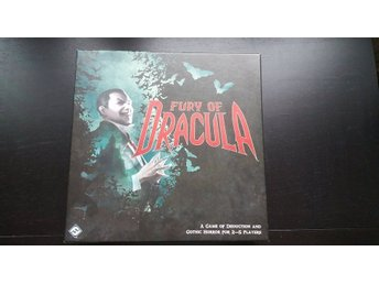 Fury of Dracula Third Edition brädspel, OUT-OF-PRINT, UR TRYCK