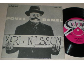 Povel Ramel EP/PS Karl Nilsson 1961