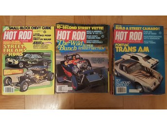 13 st Hot Rod, Worlds Largest Automotive Magazine  70-tal