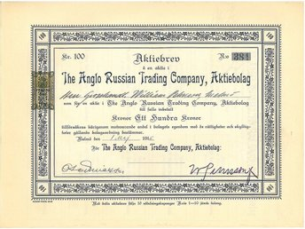 The Anglo Russian Trading Company, AB