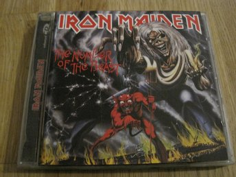 IRON MAIDEN - THE NUMBER OF THE BEAST, CD