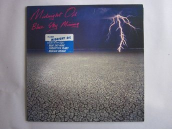 Midnight Oil -Blue sky mining LP CBS rec 1990 w/printed inne