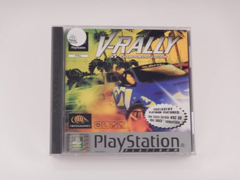Nyskick  --  V-Rally  --  Playstation / 1 Ps1  --   PAL