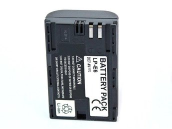 Batteri New View LP-E6