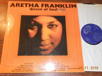 ARETHA FRANKLIN - Queen of soul, Hallmark LP England 1968
