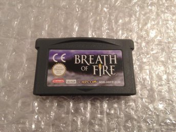 BREATH OF FIRE  - GAME BOY ADVANCE - CAPCOM - RPG