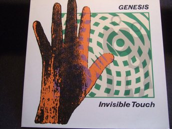 LP - GENESIS. Invisible Touch. 1986