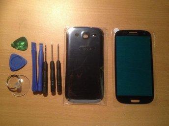 Samsung Galaxy S3 Glas display Framglas med tejp , baksida & verktyg.Blå - Göteborg - Samsung Galaxy S3 Glas display Framglas med tejp , baksida & verktyg.Blå - Göteborg