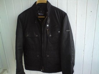 Barbour International V Four Wax Jacket size S
