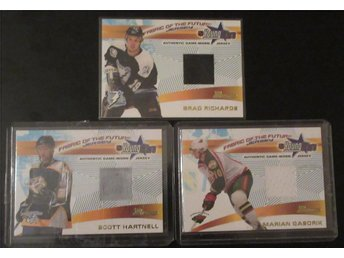 Richards/Gaborik/Hartnell - 3 JERSEYKORT - Bowman