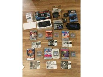 Defekt Sega Game Gear med spel, tv tuner, ac adapter, väska - Klagstorp - Defekt Sega Game Gear med spel, tv tuner, ac adapter, väska - Klagstorp