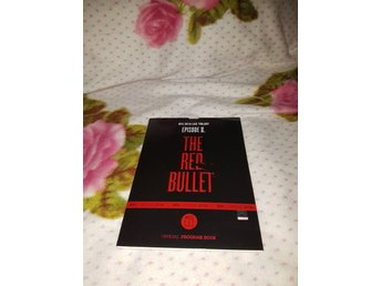 BTS RARE Red Bullet Programbook Program Book kpop k-pop korea - Sjötorp - BTS RARE Red Bullet Programbook Program Book kpop k-pop korea - Sjötorp