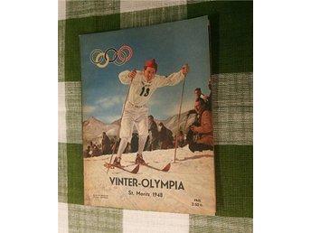 Vinter-Olympia St. Moritz 1948! - Enköping - Vinter-Olympia St. Moritz 1948! - Enköping