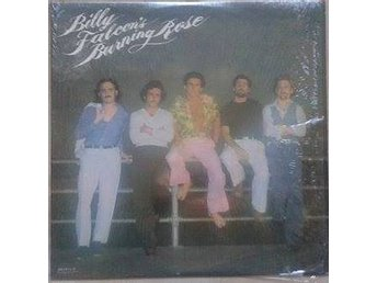 Billy Falcon title* Billy Falcon's Burning Rose* Pop Rock LP US - Hägersten - Billy Falcon title* Billy Falcon's Burning Rose* Pop Rock LP US - Hägersten