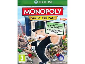 Monopoly Family Fun Pack (XBOXONE)