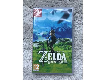 The legend of Zelda breath of the wild till Nintendo Switch!