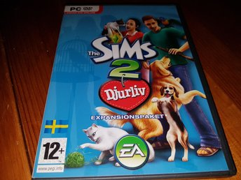 The Sims 2. Djurliv. Exp paket. Pc spel.