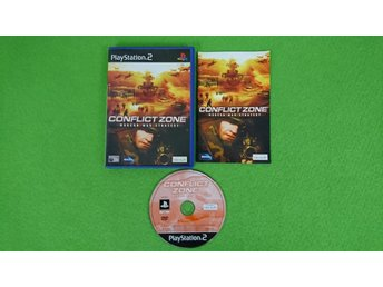 Conflict Zone KOMPLETT PS2 Playstation 2