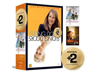 Sliding doors + 2 Bonusfilmer / Box (3 DVD)