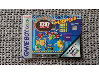 Manual – M&M's Minis Madness till GBC Game Boy Color