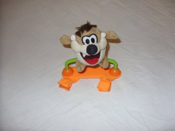 Looney Tunes Taz mjukdjur plush toy Tazmanian Devil cartoon Warner Bros kramdjur