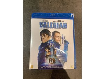 Valerian and the city of a thousand planets (2017) Blu-ray