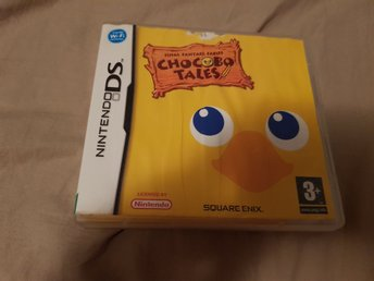 Chocobo tales final fanatsy fables ds.