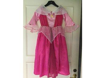 7d3bc54f2d8f PRINSESSKLÄNNING Klänning Barn Utklädning Maskerad Walt Disney Princess