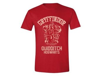 Harry Potter T-shirt Gryffindor Quidditch Röd XL