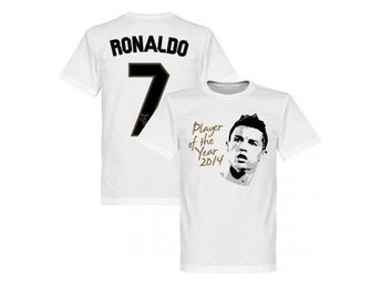 Real Madrid T-shirt Ronaldo Player of the Year L
