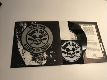RARE EP, Dom Där - Revolution/Stench Of Decay + POSTER + PATCH