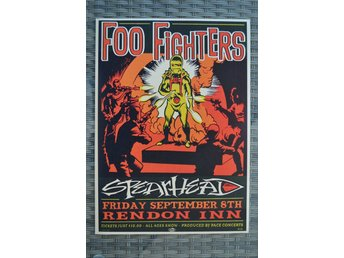 Foo Fighters Spearhead Musik Poster Affisch 42*30cm Ny