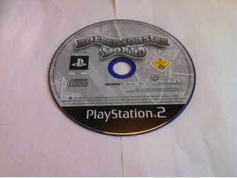 PS2: Rollercoaster/Roller Coaster World (Enbart skivan!)