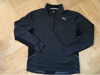 Puma Performance Half Zip Long Sleeve Running Top Löparkläder Herr Jacka Large