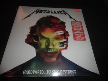 Metallica - Hardwired...to self..- Röd 2xLP - RSD 2016 - Ny