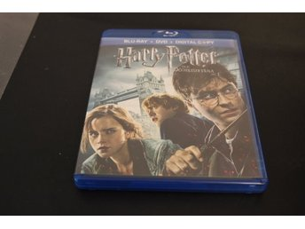 Bluray+DVD-film: Harry Potter och Dödsrelikerna del 1