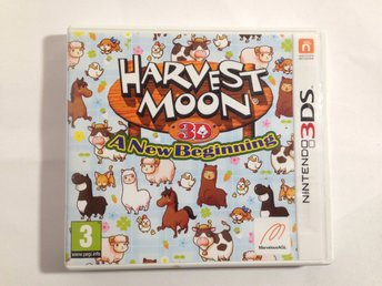Harvest Moon 3D: A New Beginning till Nintendo 3DS