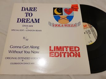 Viola Wills - Dare To Dream 12'' Maxi