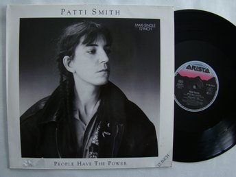 PATTI SMITH people have the power -88 maxi singel 12 inc