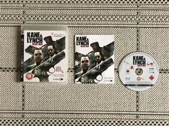 Kane & Lynch: Dead Men till Playstation 3, PS3, komplett