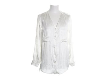 H&M Conscious Collection, Blus, Strl: 36, Vit