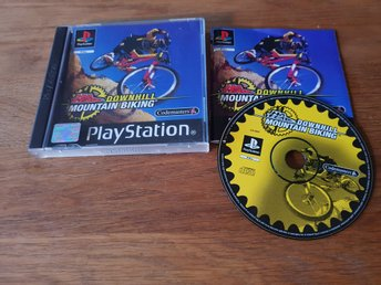 NO FEAR DOWNHILL MOUNTAIN BIKING PS1 BEG