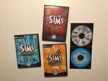 The Sims 1, Hot Date, Unleashed, On Holiday