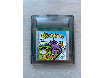 Game Boy Color GBC: Rhino Rumble Ovanligt!