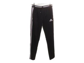 Adidas, Träningsbyxor, Strl: 164, Svart, Polyester