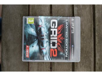 Playstation 3 PS3 GRID2 GRID 2 Unlimited Ed.