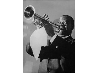 Louis Armstrong - Foto i A4-format