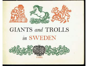Giants and trolls in Sweden (1961) illustrerad (Svårfunnen)