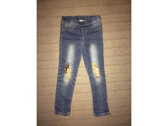 Jeansleggings 122.