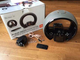JBL On Air Wireless högtalare - Radio - Airplay - WiFi - AUX - Karlskoga - JBL On Air Wireless högtalare - Radio - Airplay - WiFi - AUX - Karlskoga